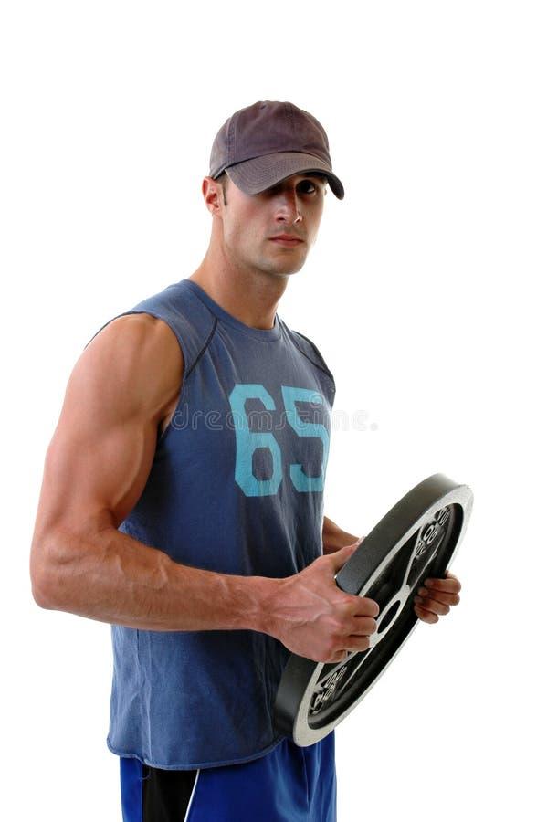 Weightlifter stockfotos