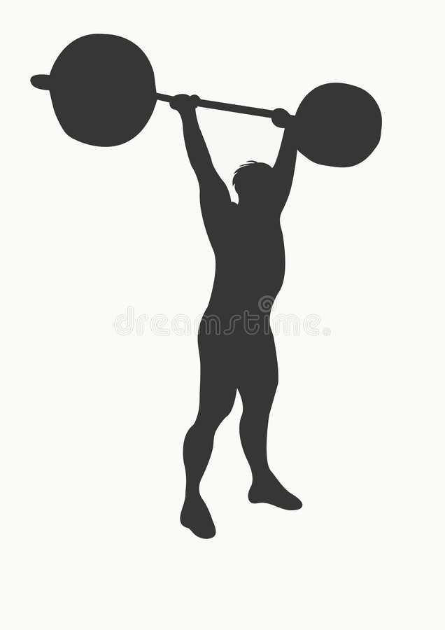 weightlifter απεικόνιση αποθεμάτων