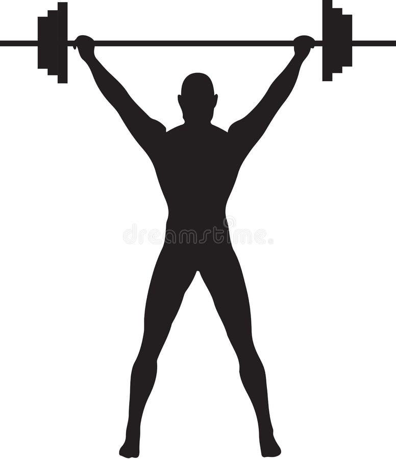 weightlifter royalty illustrazione gratis