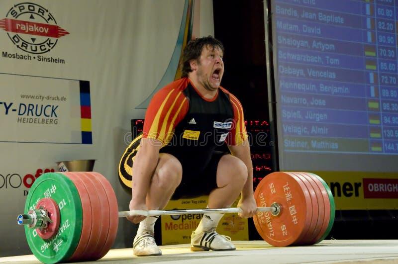 weightlifting royaltyfria foton