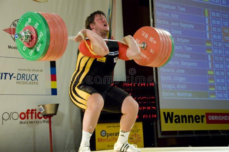 Weightlifting foto de stock