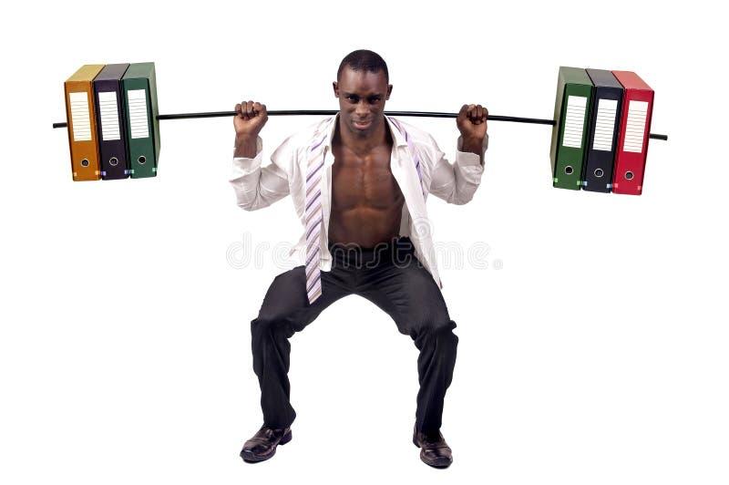 Weightlifting fotografia stock libera da diritti