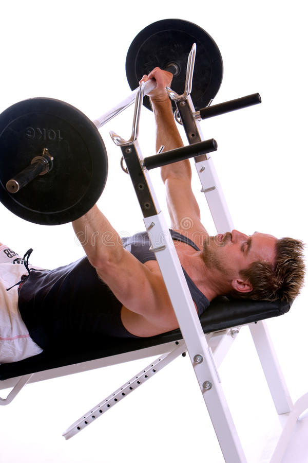 Weightlifting immagine stock