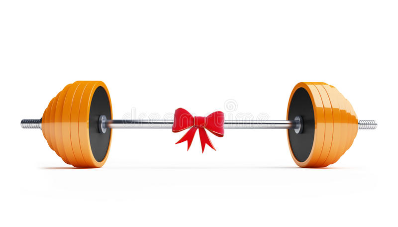 Weightlifting Gift Stock Photos