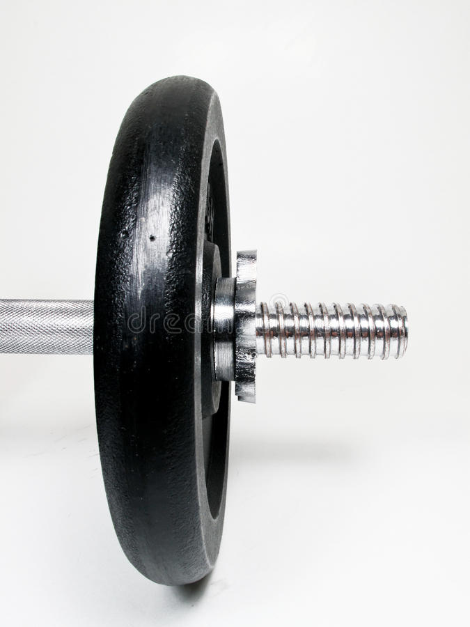 Weights gym royalty free stock photo
