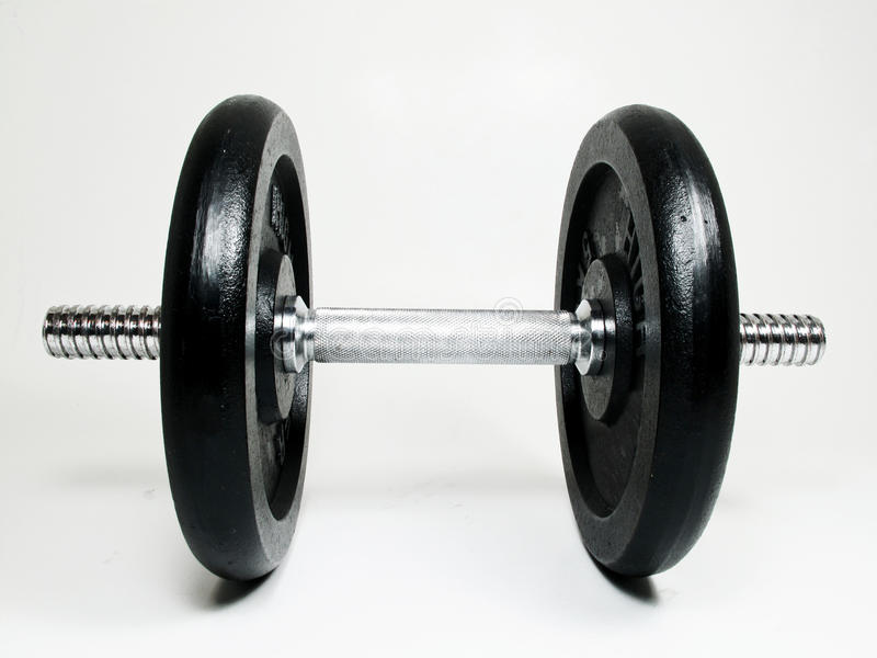 Weights gym stock images