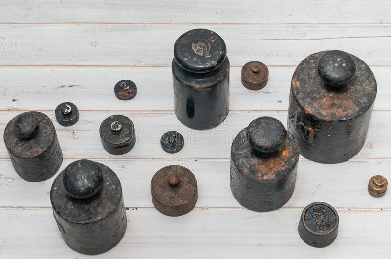 Weights royalty free stock photo