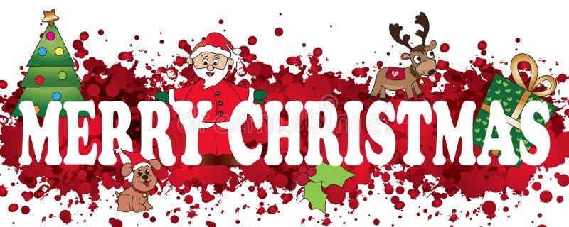 Weihnachten lizenzfreie abbildung