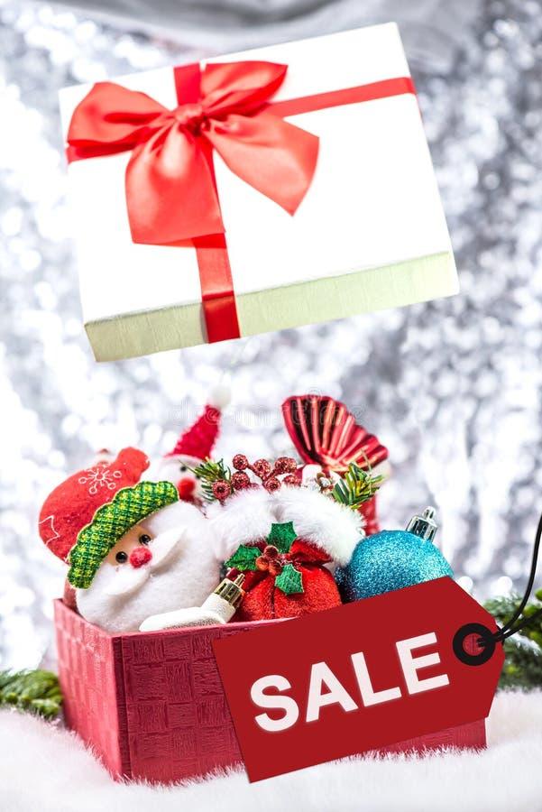Weihnachten auf slae lizenzfreies stockbild