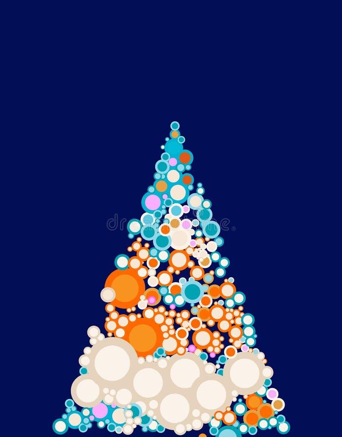Weihnachten-Baum stock abbildung