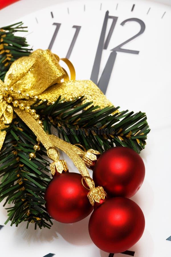Weihnachten-Baum Dekoration lizenzfreies stockbild