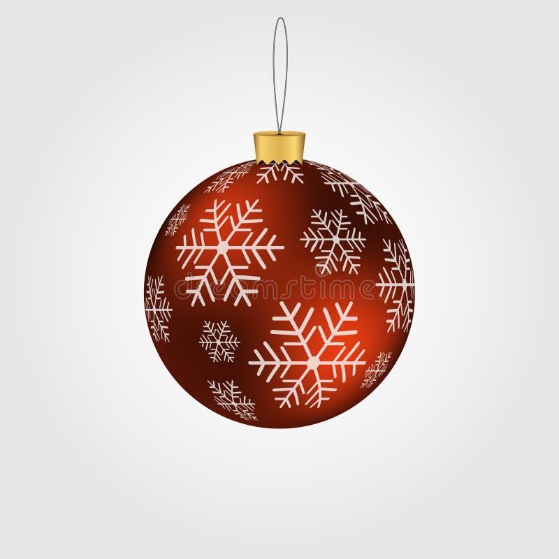 Weihnachten-Baumdekorationen, Geschenk Ein Spielzeug auf einem Pelzbaum mit Porzellan Santa Claus und Tannenbaum Auch im corel ab lizenzfreie abbildung