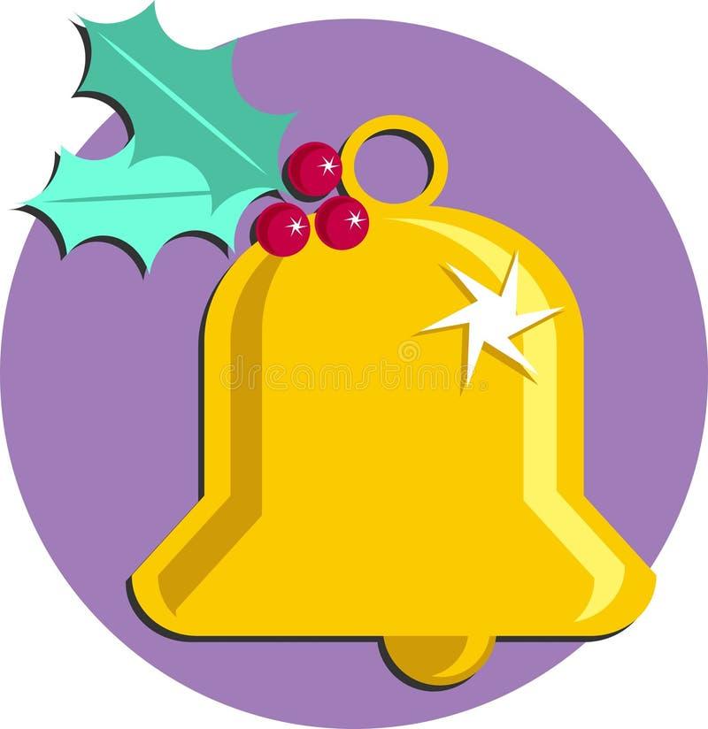 Download Weihnachten Bell stock abbildung. Bild von ring, stechpalme - 43440