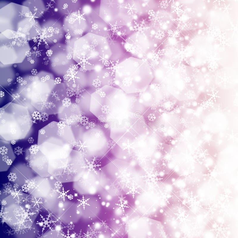Weihnachten Bokeh stock abbildung