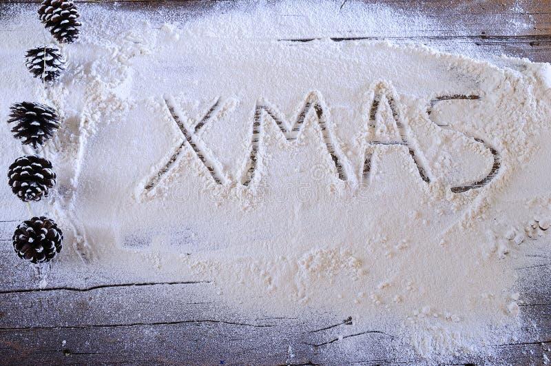 Weihnachten in der Bäckerei lizenzfreies stockbild