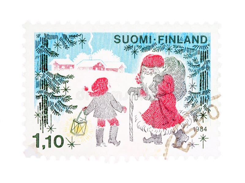 Weihnachten in Finnland stockfotos