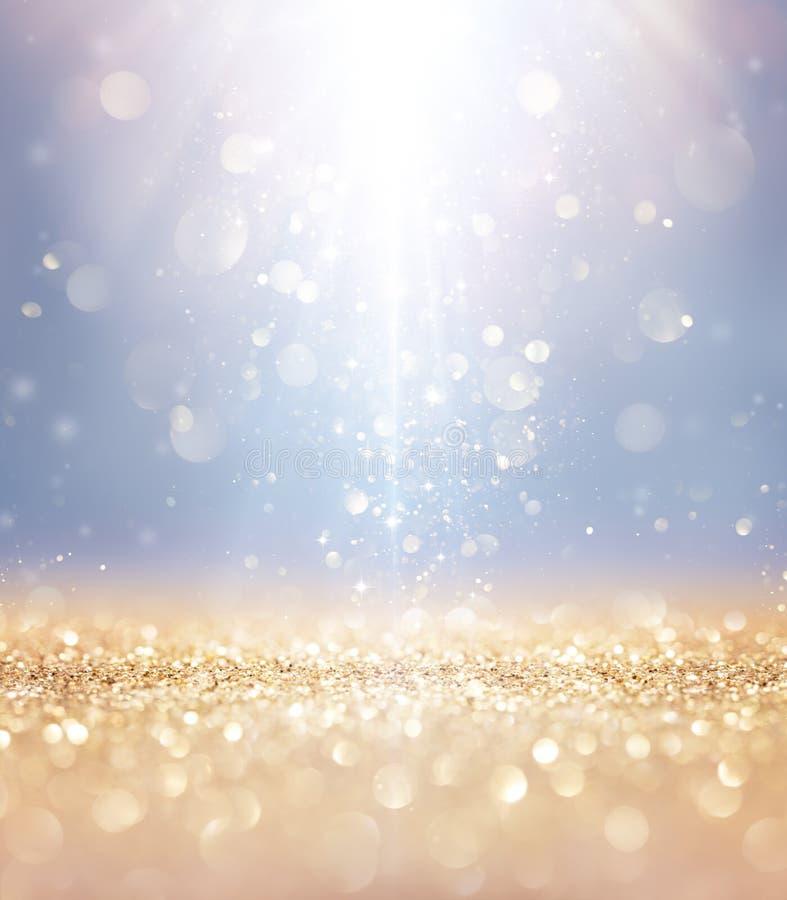 Weihnachten glänzend - Licht-und Stern-Fallen lizenzfreies stockfoto