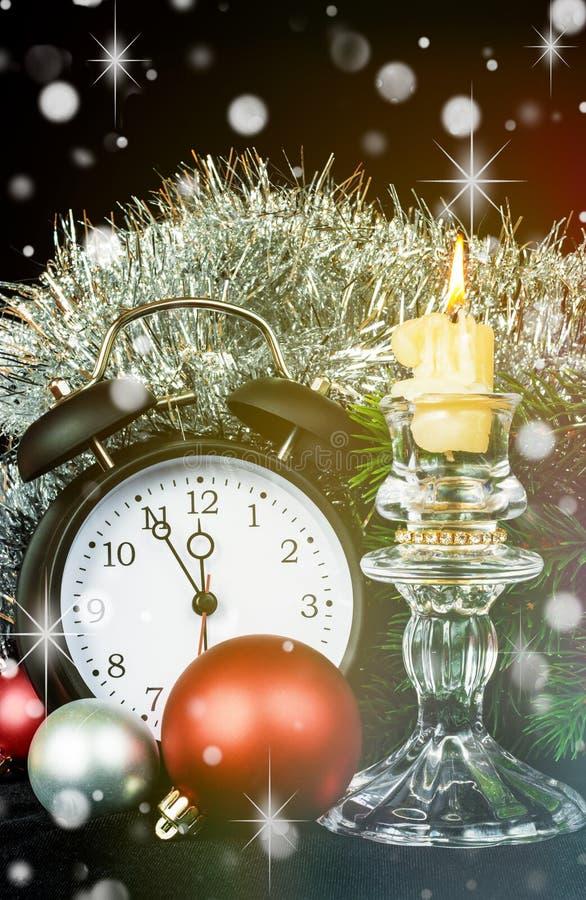 Weihnachten-greetin Karte stockfoto