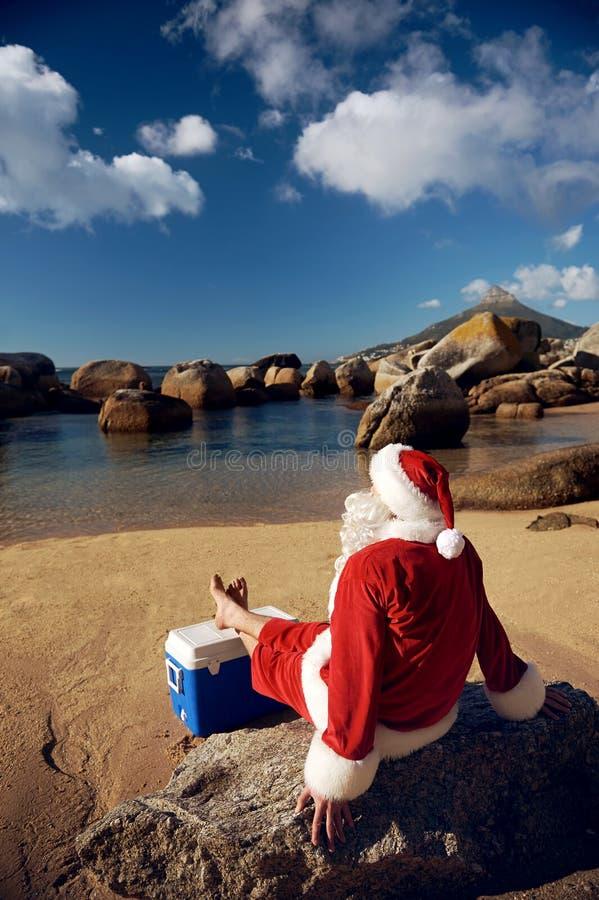 Weihnachten im Juli lizenzfreies stockfoto