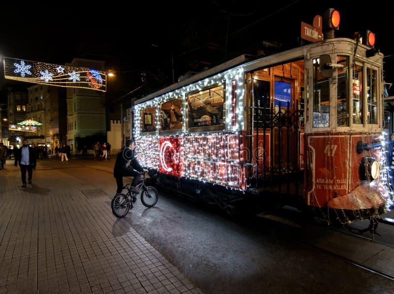 weihnachten in istanbul redaktionelles stockbild bild von. Black Bedroom Furniture Sets. Home Design Ideas