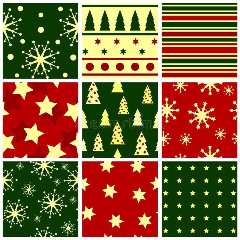 Weihnachten nahtlos vektor abbildung