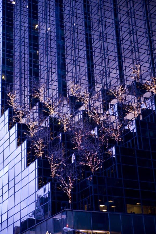 Weihnachten in NY stockfotos