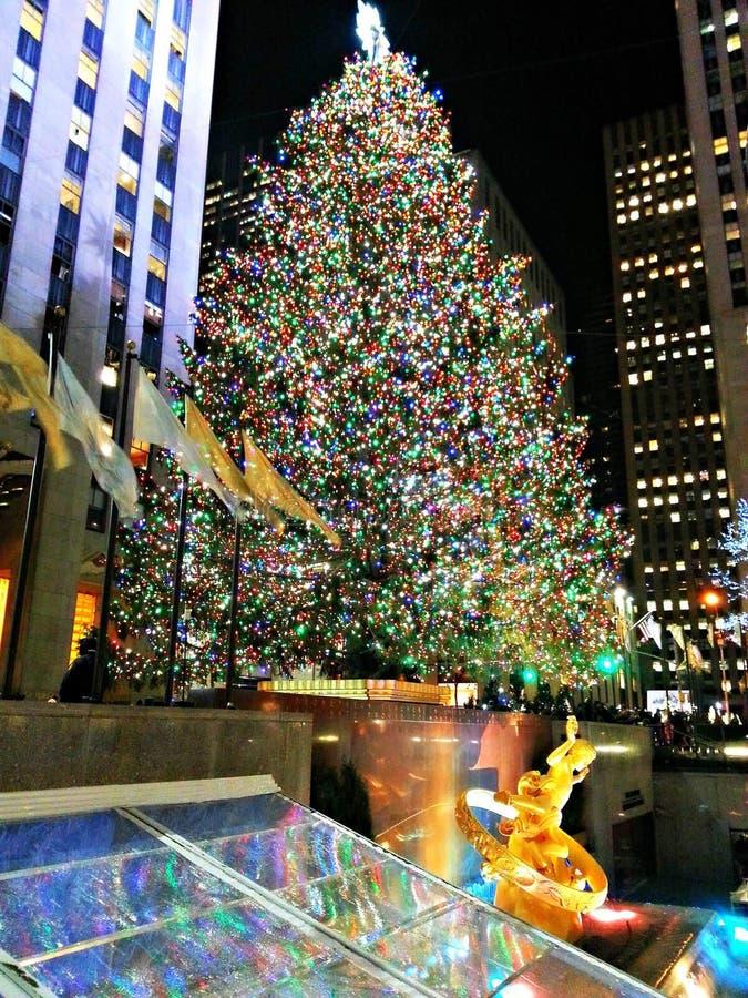 WEIHNACHTEN IN NYC stockfoto