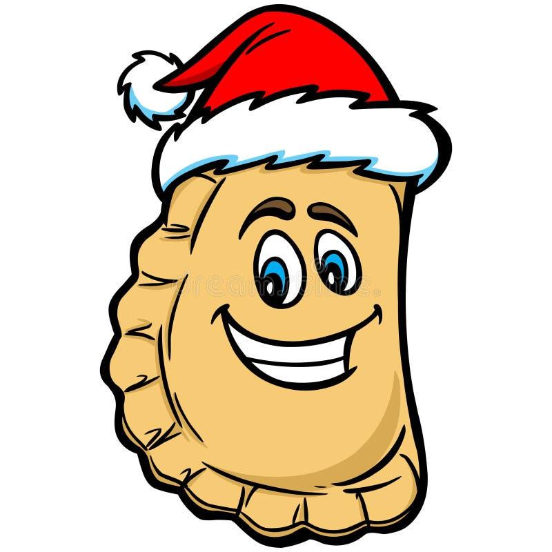 Weihnachten Pierogi stock abbildung