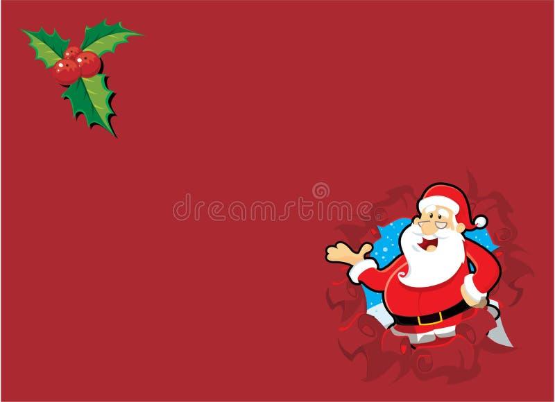 Weihnachten Sankt stock abbildung