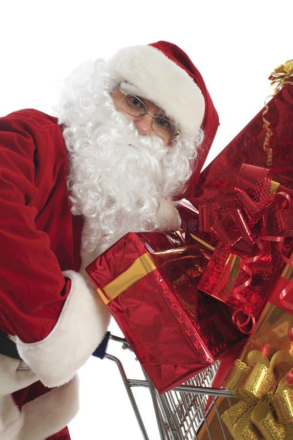 Weihnachten Sankt lizenzfreie stockfotos