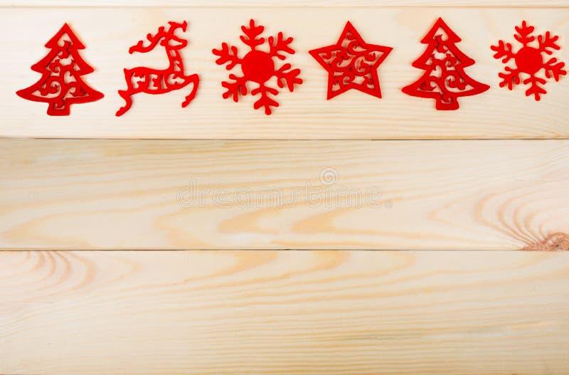 Weihnachten-simbols auf Holz stockfoto