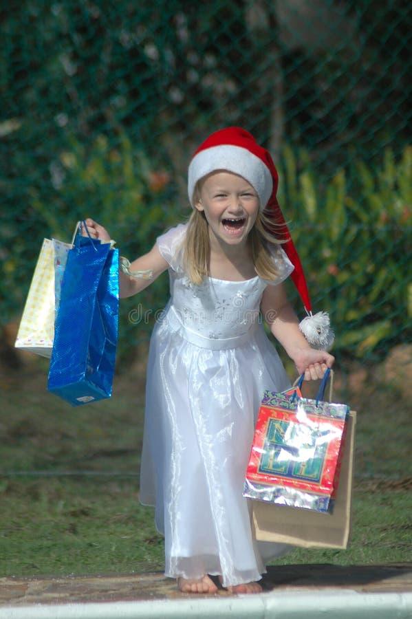 Weihnachten am Sommer stockfoto
