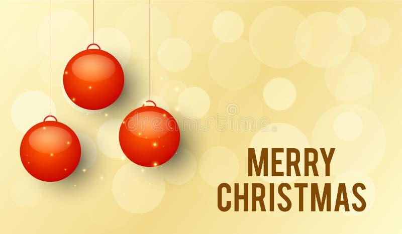 Weihnachten und neues Jahr lizenzfreie abbildung