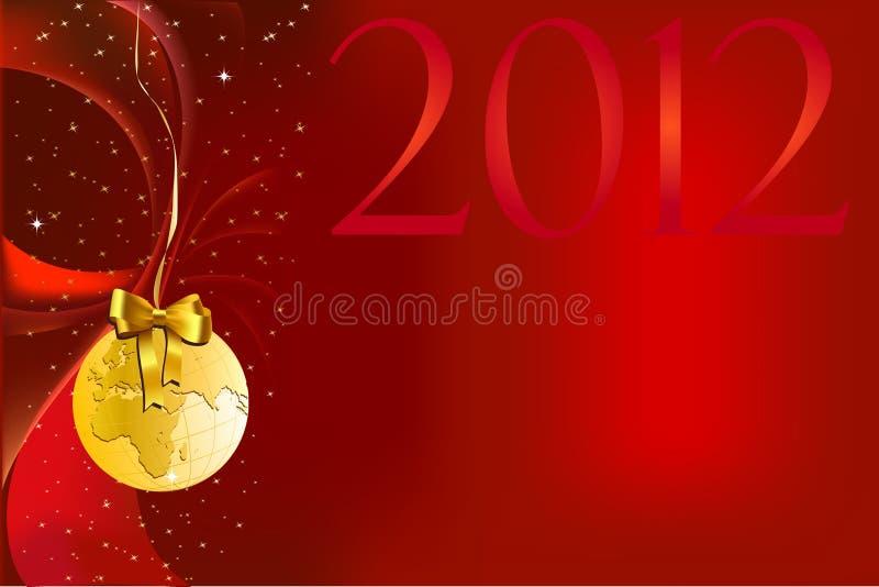 Weihnachten und neues Jahr stock abbildung