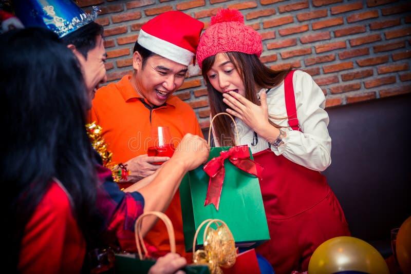 Weihnachten und Partei des neuen Jahres lizenzfreies stockfoto