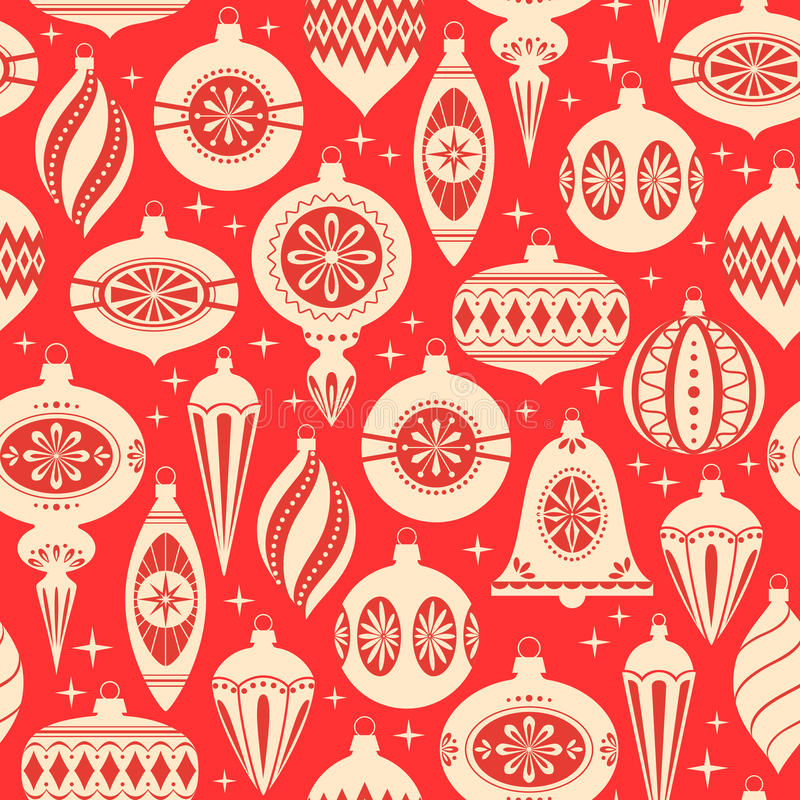 Weihnachten verziert Muster