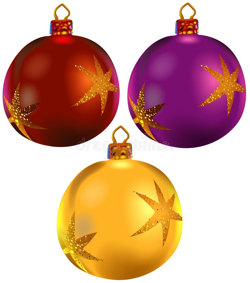 Weihnachten verziert vol.4 lizenzfreie abbildung