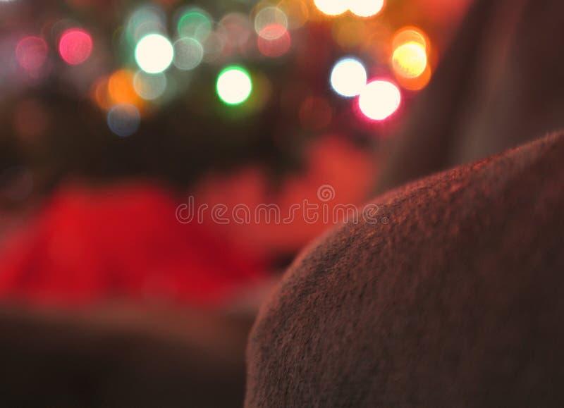 Weihnachten vom Stuhl stockfotos