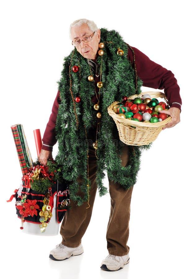 Weihnachten wieder Aleady? stockfoto