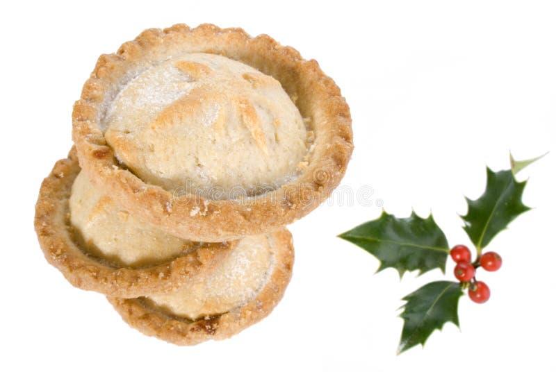 Weihnachten zerkleinern Tortestapel stockfotos