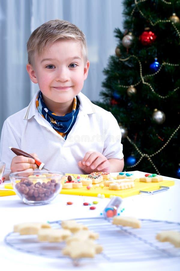 Weihnachtenbackery lizenzfreies stockfoto