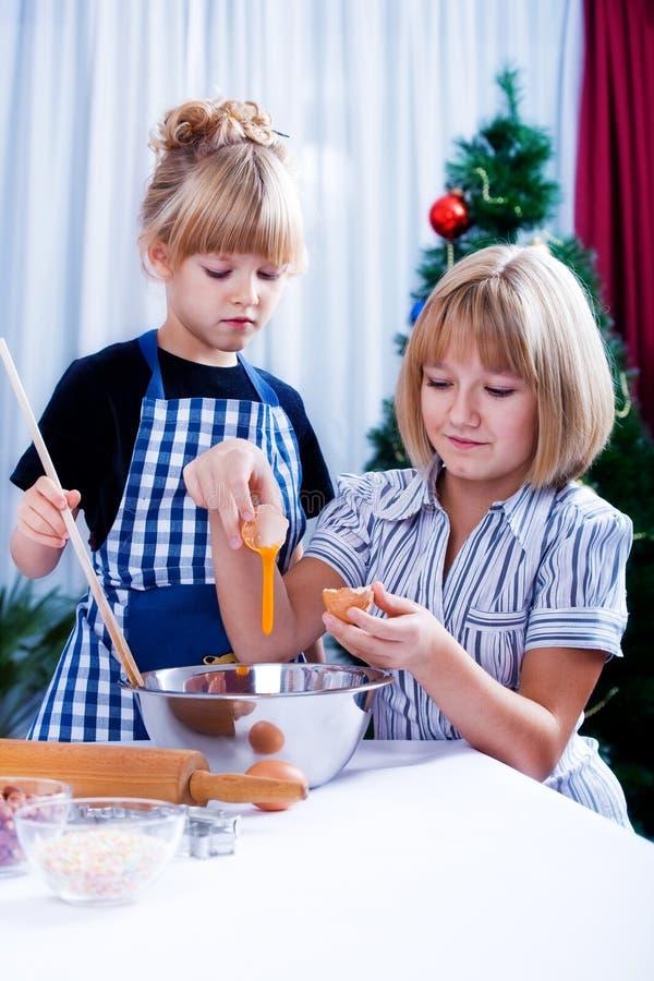 Weihnachtenbackery stockfotos