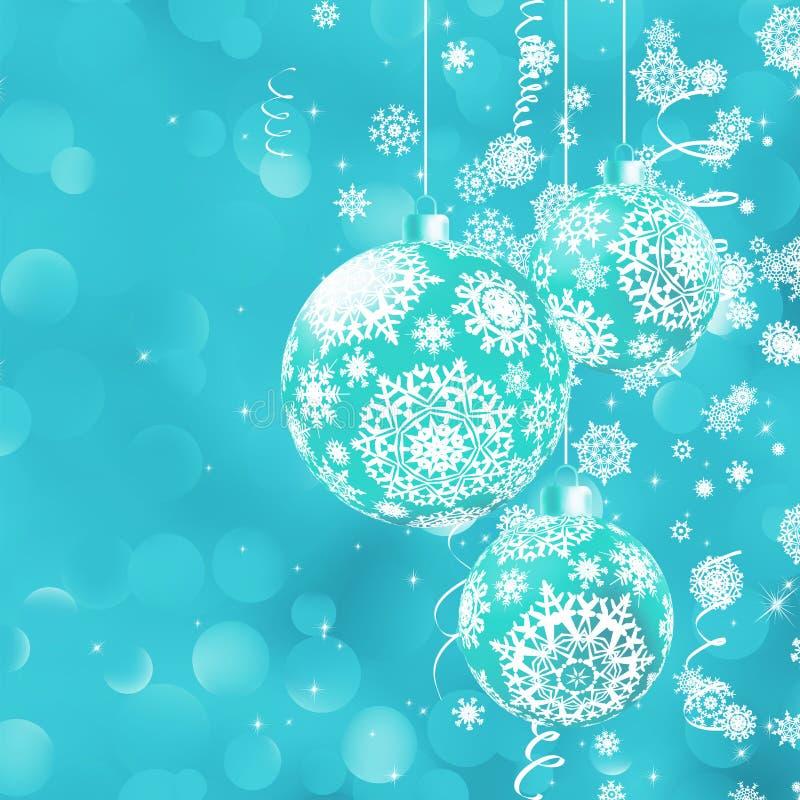 Weihnachtenbokeh Hintergrund mit Flitter. ENV 8 lizenzfreie abbildung