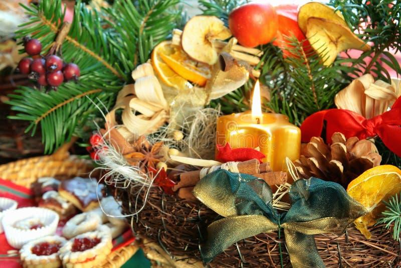 Weihnachtenc$nochlebensdauer   lizenzfreies stockfoto