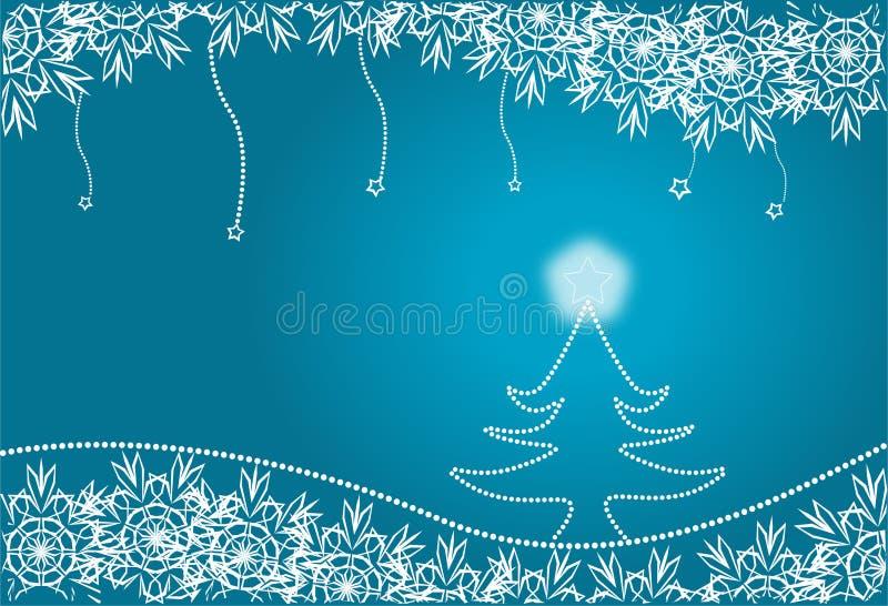 Weihnachtenc$pelzbaum stock abbildung