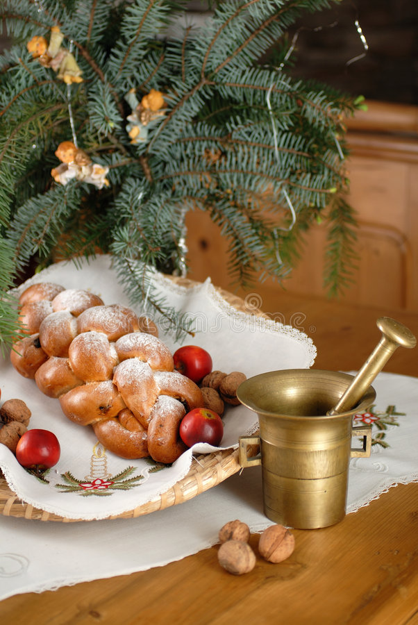 Weihnachtendecaration lizenzfreies stockfoto