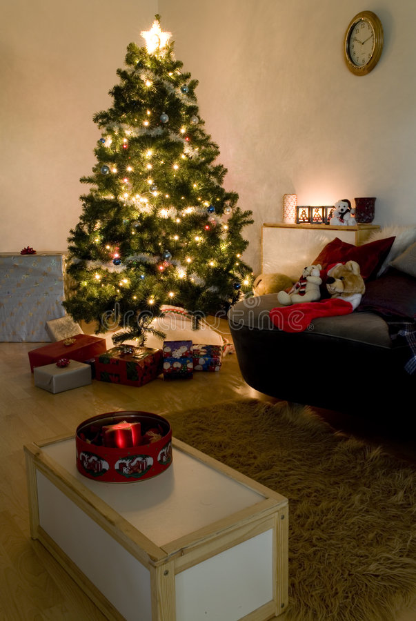 Weihnachtendeco lizenzfreies stockfoto