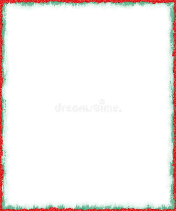WeihnachtenGrunge Rand #2 stockfoto