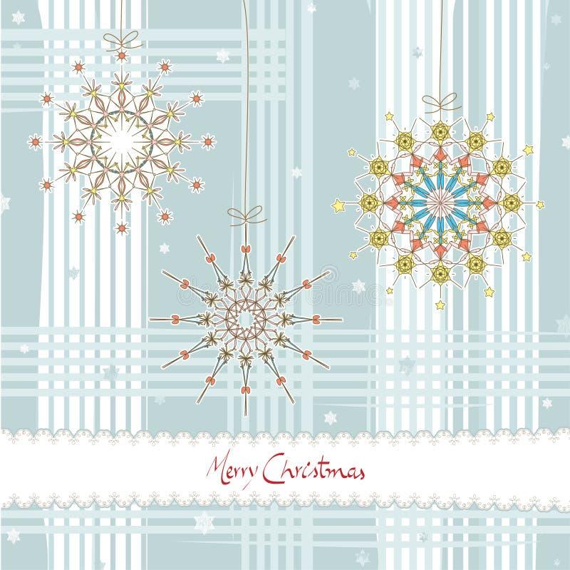 Weihnachtenstars_card stock abbildung