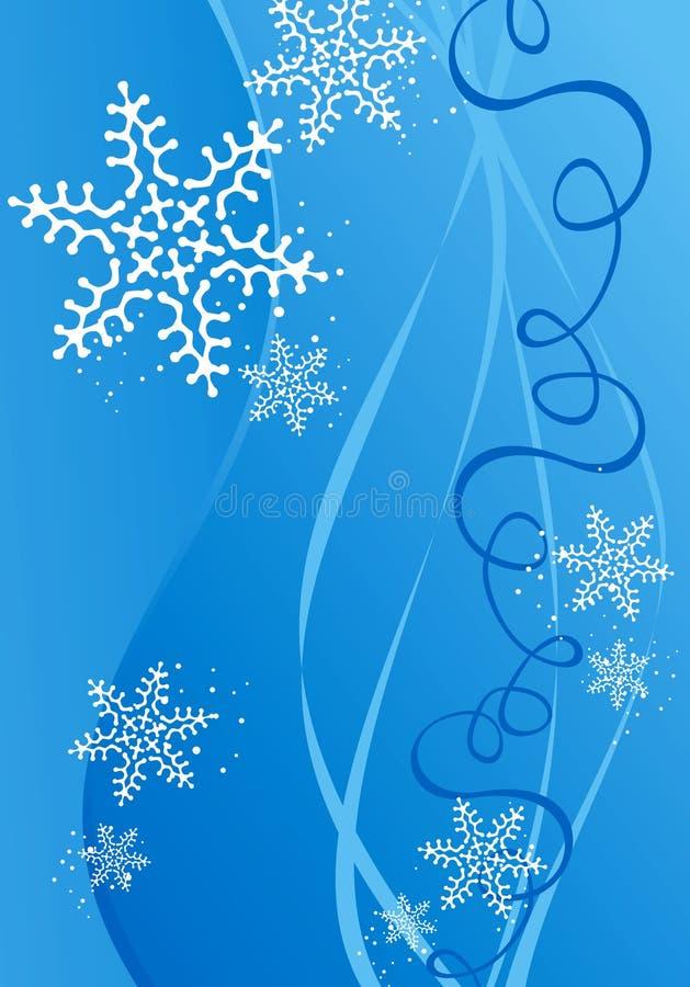 Weihnachts-/des neuen Jahresabbildunghintergrund stock abbildung